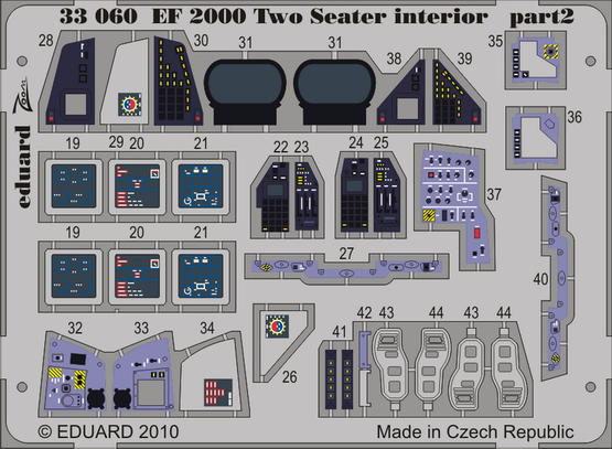 EF 2000 Two-seater interior S.A. 1/32  - 2