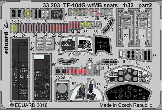TF-104G w/MB seats 1/32  - 2