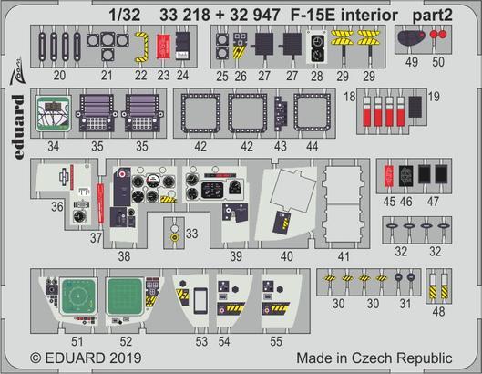 F-15E интерьер 1/32  - 2