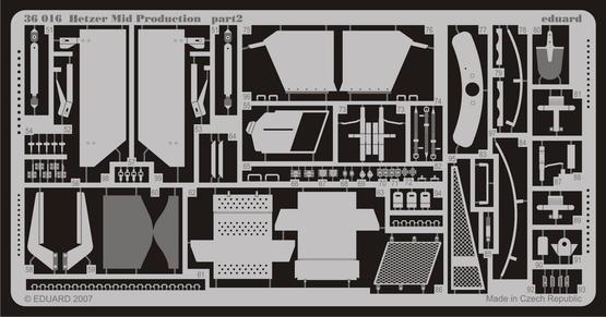 Hetzer Mid. Production 1/35  - 2