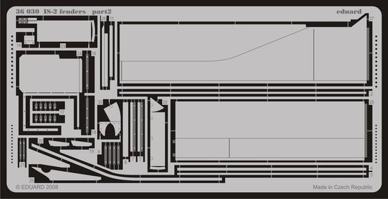 IS-2 fenders 1/35  - 2