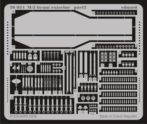 M-3 Grant exterior 1/35  - 2