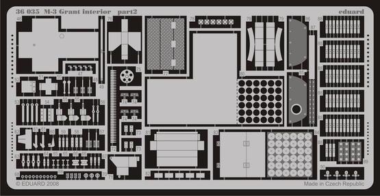 M-3 Grant interior 1/35  - 2