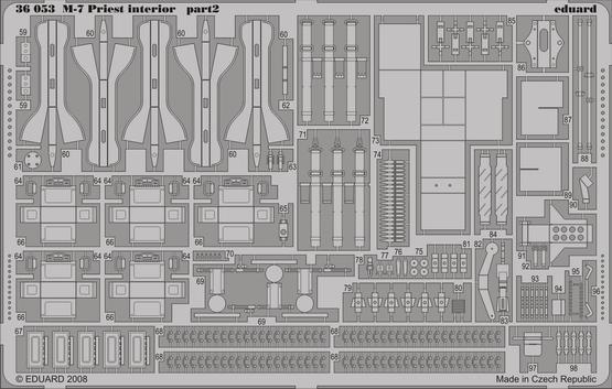 M-7 interior 1/35  - 2