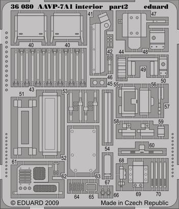 AAVP-7A1 interior 1/35  - 2