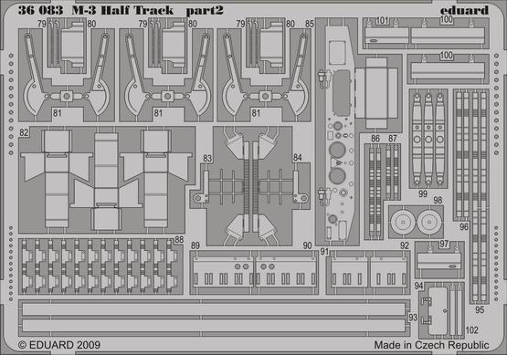 M-3 Half Track 1/35  - 2