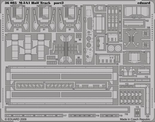 M-3A1 Half Track 1/35  - 2