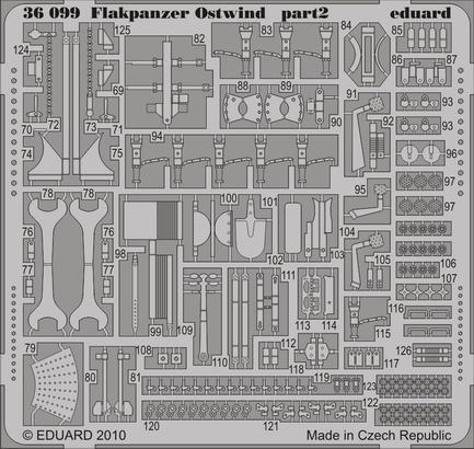 Flakpanzer Ostwind 1/35  - 2