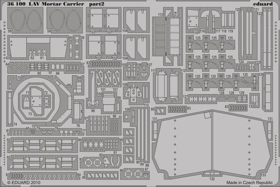 LAV Mortar Carrier 1/35  - 2
