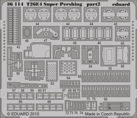 T26E4 Super Pershing 1/35  - 2