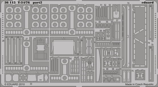 T-34/76 1/35  - 2