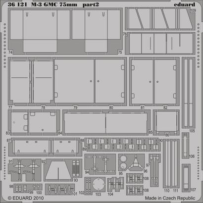 M-3 GMC 75mm 1/35  - 2