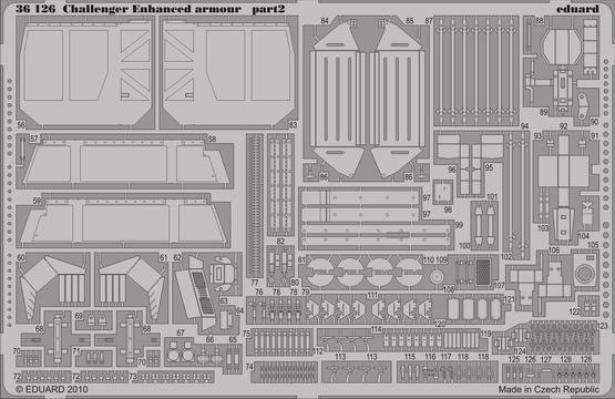 Challenger II Enhanced armour 1/35  - 2