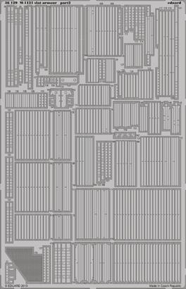 M-1131 slat armour 1/35  - 2