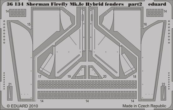 Sherman Firefly Mk.Ic Hybrid fenders 1/35  - 2