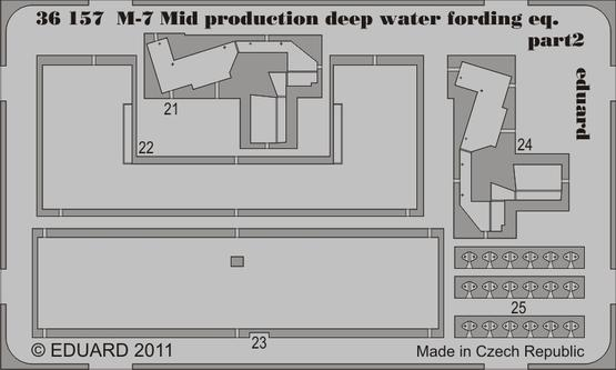 M-7 Mid production deep water fording eq. 1/35  - 2
