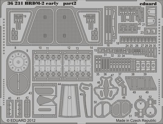 BRDM-2 early 1/35  - 2