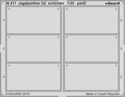 Jagdpanther G2 schurzen 1/35  - 2