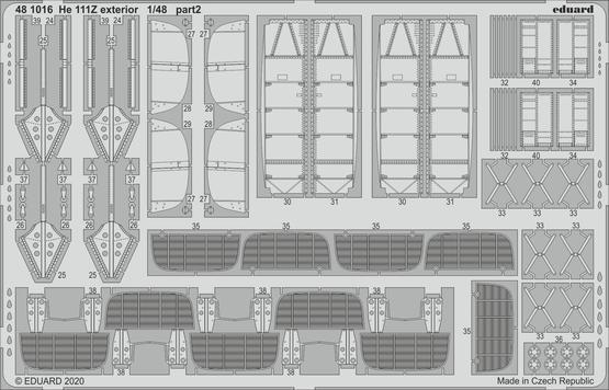 He 111Z exterior 1/48  - 2