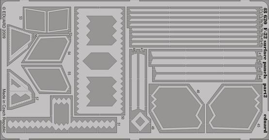 F-22 surface panels 1/48  - 2
