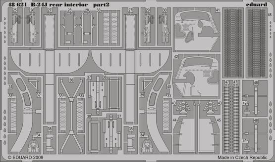 B-24J rear interior 1/48  - 2