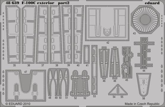 F-100C exterior 1/48  - 2