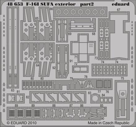 F-16I SUFA exterior 1/48  - 2