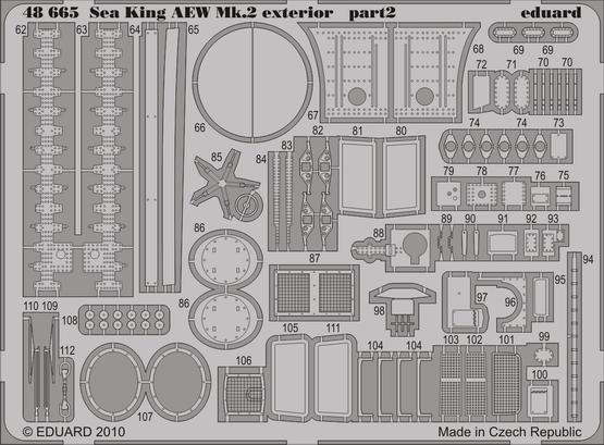 Sea King AEW Mk.2 exterior 1/48  - 2