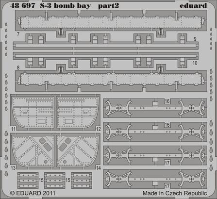 S-3 bomb bay 1/48  - 2