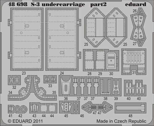 S-3 undercarriage 1/48  - 2