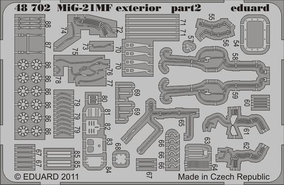 MiG-21MF exteriér 1/48  - 2