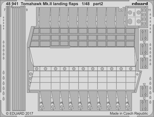 Tomahawk Mk.II landing flaps 1/48  - 2