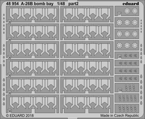 A-26B bomb bay 1/48  - 2