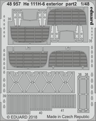He 111H-6 exterior 1/48  - 2