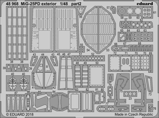 MiG-25PD exterior 1/48  - 2