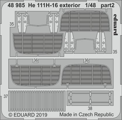 He 111H-16 exterior 1/48  - 2