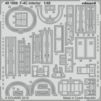 F-4C 内装 1/48  - 2