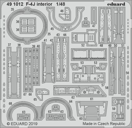 F-4J интерьер 1/48  - 2
