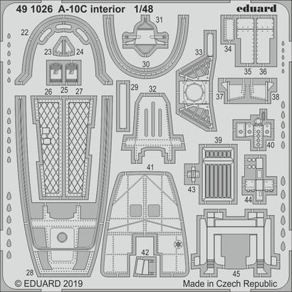 A-10C interior 1/48  - 2