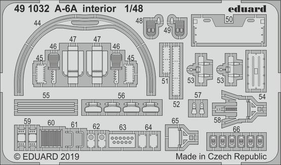 A-6A interiér 1/48  - 2