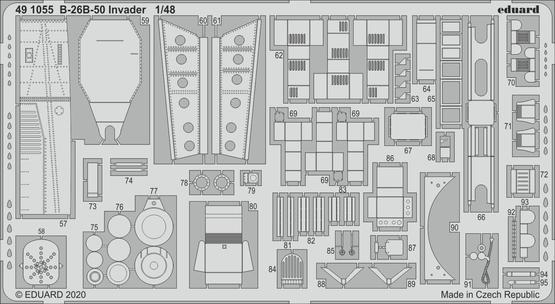 B-26B-50 Invader 1/48  - 2