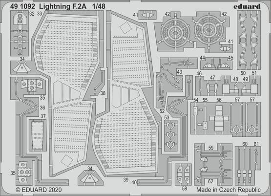 Lightning F.2A 1/48  - 2