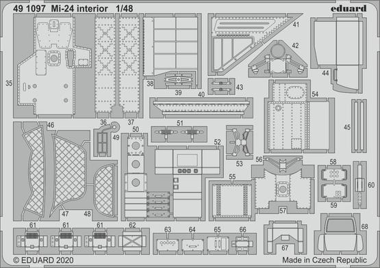 Mi-24 interior 1/48  - 2