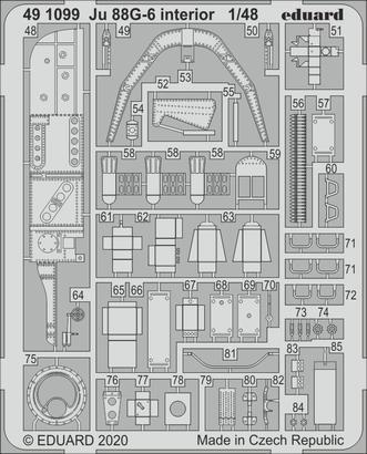 Ju 88G-6 interior 1/48  - 2