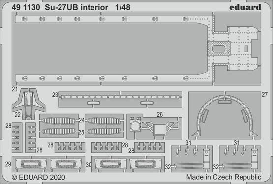 Su-27UB interior 1/48  - 2