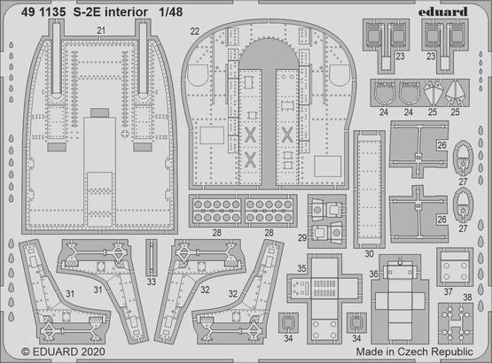 S-2E interior 1/48  - 2