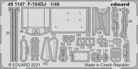 F-104DJ 1/48  - 2