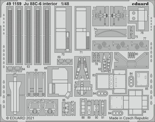 Ju 88C-6 interior 1/48  - 2