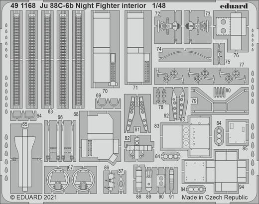 Ju 88C-6b Night Fighter interior 1/48  - 2