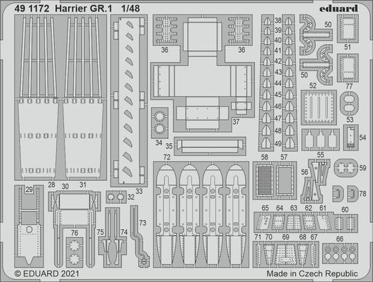 Harrier GR.1 1/48  - 2